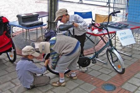 fête du vélo organisée par véli-vélo