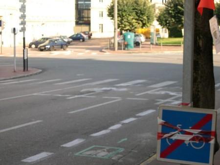 """sas """"improvisé"""" rue Théodore Bac"""