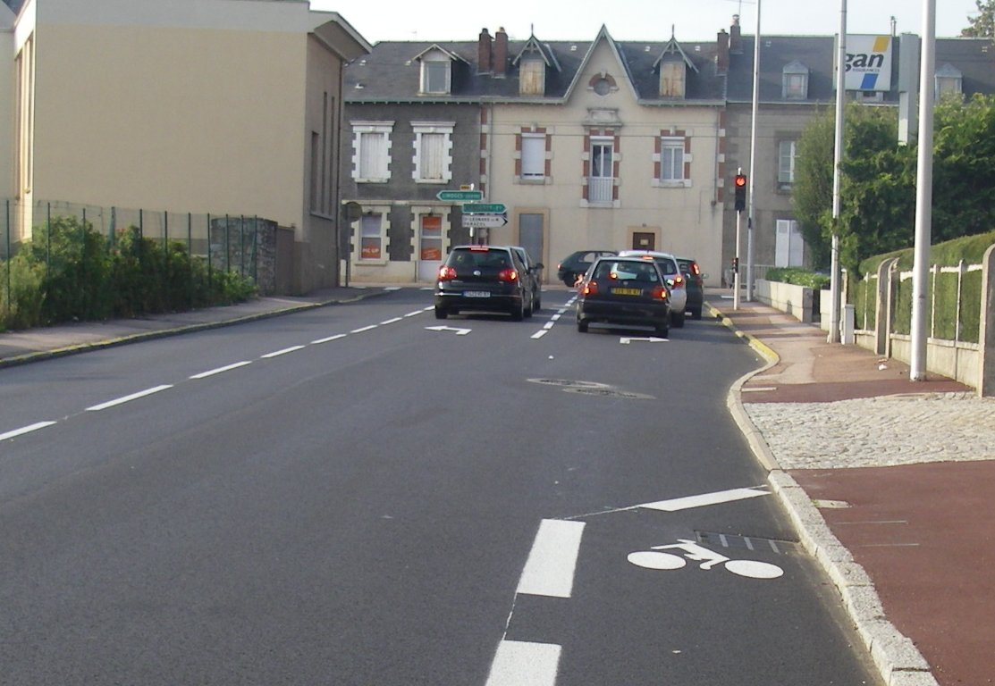 Ilot Central Code De La Route ~ Feytiat Limoges Cyclable