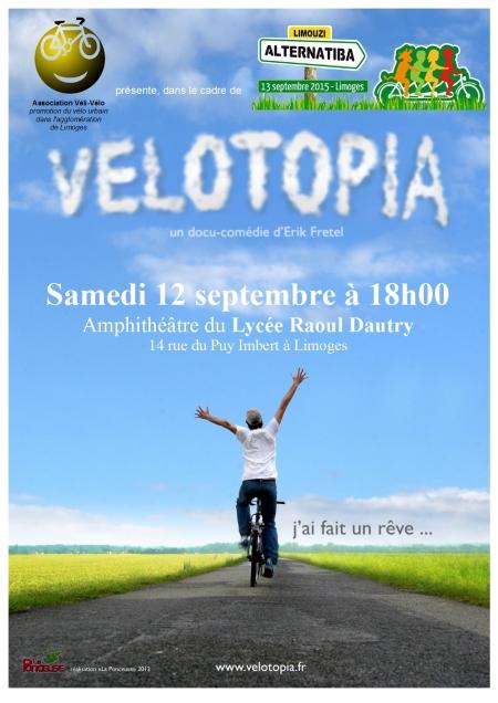 Affiche Vélotopia Dautry