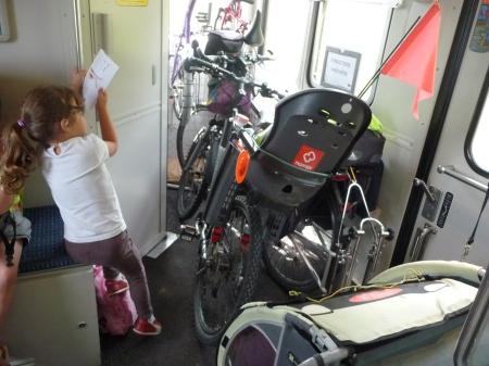 Lemovicycle 2014, TER Limoges - Eymoutiers