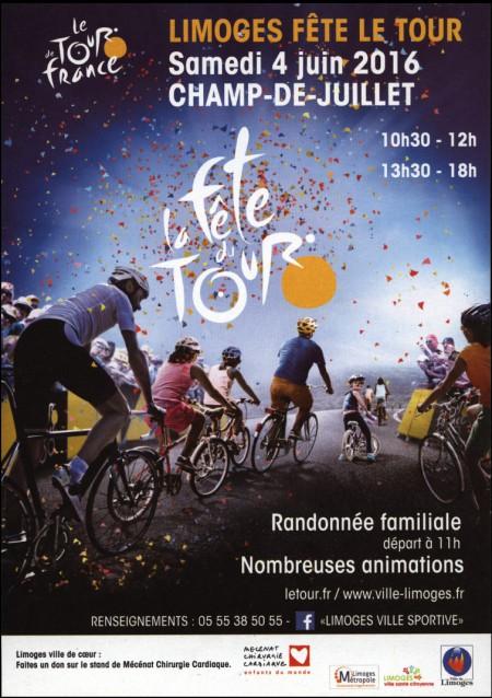 Limoges fête le Tour