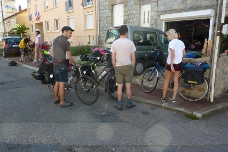 Départ en direction de Toulouse le 6 juillet