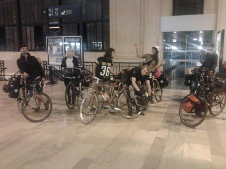 Arrivée Gare des Bénédictins